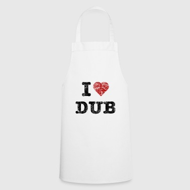 I Love DUB vintage dark - Cooking Apron