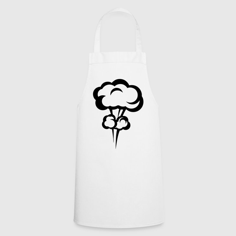 Explosion mushroom nuclear drawing 33 - Cooking Apron