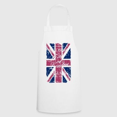 Union Jack - London - Vintage Look  - Delantal de cocina