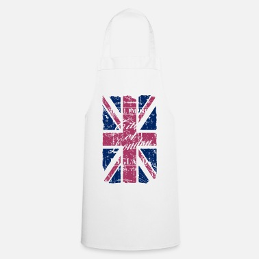 England Union Jack - London - Vintage Look  - Kochschürze