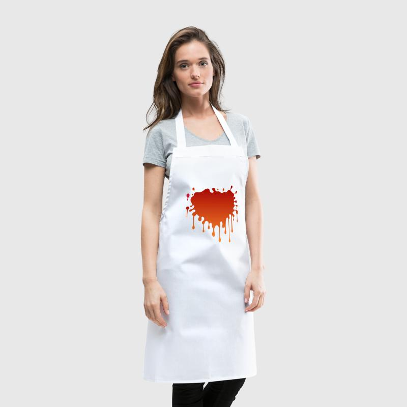 Blood spatter - Cooking Apron