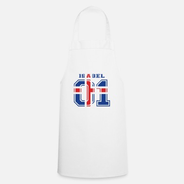 Isabel home roots name iceland island ISABEL - Cooking Apron