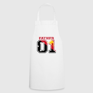 Father father papa 01 queen Papua New Guinea - Cooking Apron