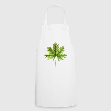 Leaf of a maple - Cooking Apron