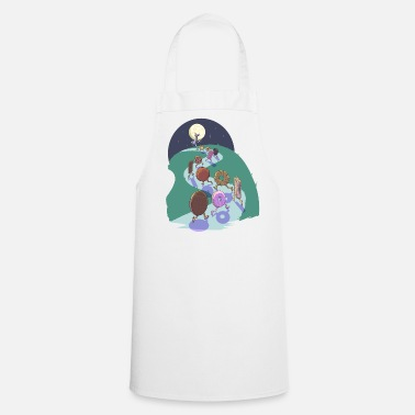 Cooking Pied Piper of biscuits - Apron