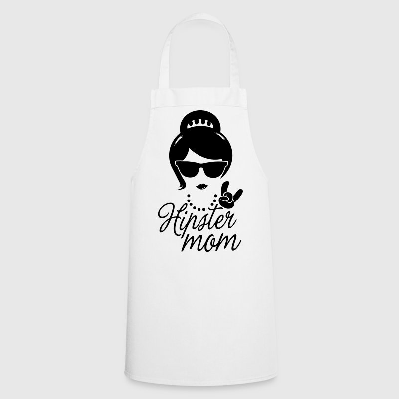 Like a i love hipster mother mom mother's day - Cooking Apron