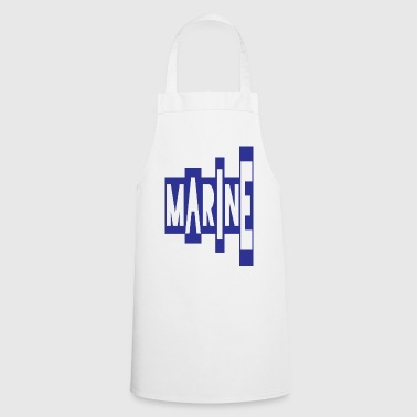 the stairway navy - Cooking Apron