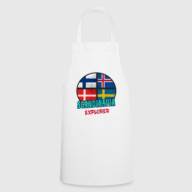 Scandinavie Explorer / Scandinavie / Cadeau - Tablier de cuisine