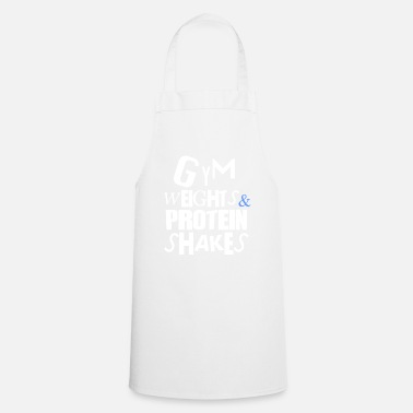 Gym GYM WEIGHTS PROTEIN - Cooking Apron