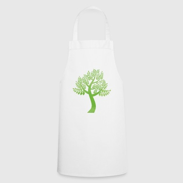 Tree tree tree trees trees green power - Cooking Apron