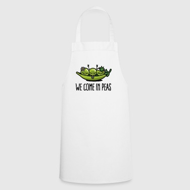 We come in peas / peace - Cooking Apron