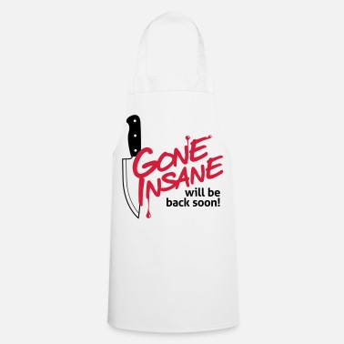 Halloween Driven mad. Come back later. - Cooking Apron
