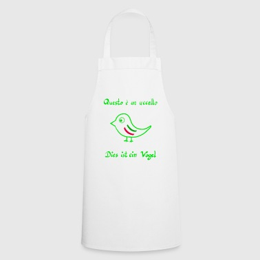 Italian This is a bird - Italian - Cooking Apron