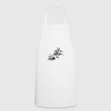 Leaves in the wind - Cooking Apron