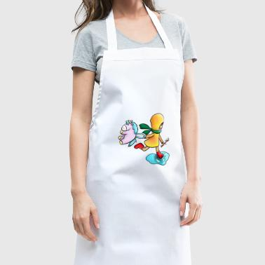 Childhood color - Cooking Apron