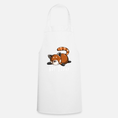 Panda Not Today Red Panda - Panda - Pandas - Cooking Apron