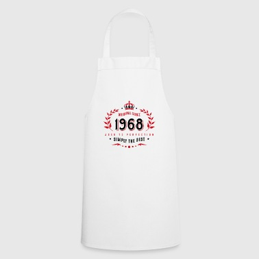 original since 1968 simply the best 50th birthday - Cooking Apron