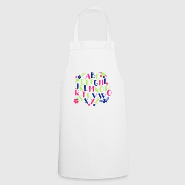 Alphabet - Cooking Apron