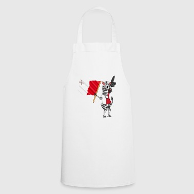 Maltese zebra - Cooking Apron