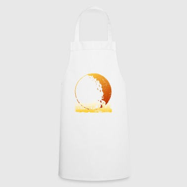 Happy Halloween in the moon - Cooking Apron