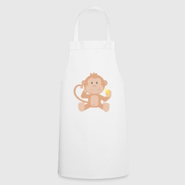 Lapsi Monkey with banana - Cooking Apron