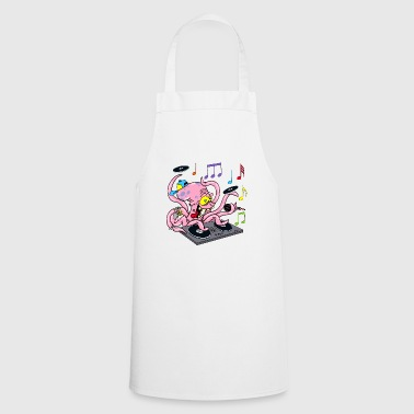 Octopus deejay - Cooking Apron