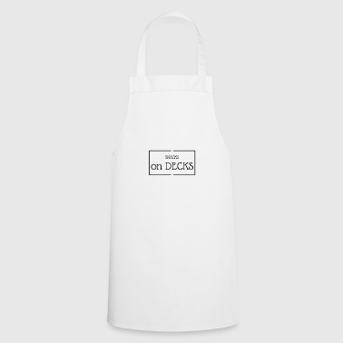 Snacks on decks - Cooking Apron