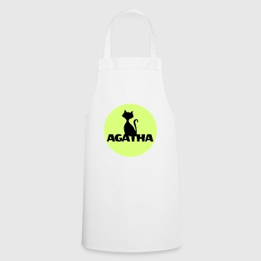 Day Agatha Name First name Name Motif name day - Cooking Apron