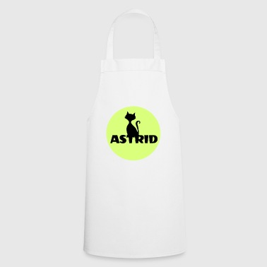 Astrid name cat full moon name day - Cooking Apron
