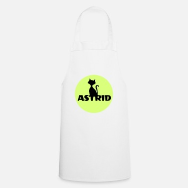 Name Day Astrid name cat full moon name day - Cooking Apron