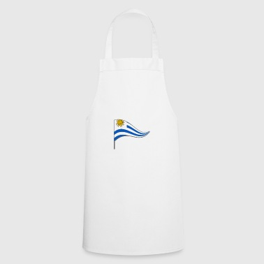Banner. Flagge.Landesflagge. Uruguay. South America - Cooking Apron