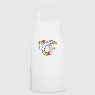 Illustration Tatoo - Cooking Apron