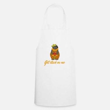 Hog Hedgehog in the fog, Crown, Flower Hogs and Kisses - Cooking Apron