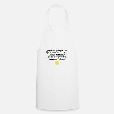 Elevator How british people say lift instead of elevator - Cooking Apron