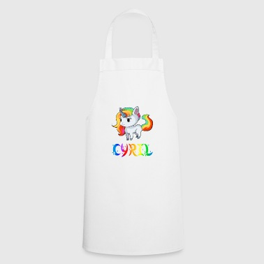 Unicorn Cyril - Cooking Apron