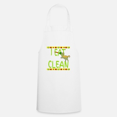 Age Eco Bio Lowcarb Clean Dinosaur Stone Age Diet - Cooking Apron