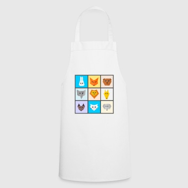 cute animals - Cooking Apron