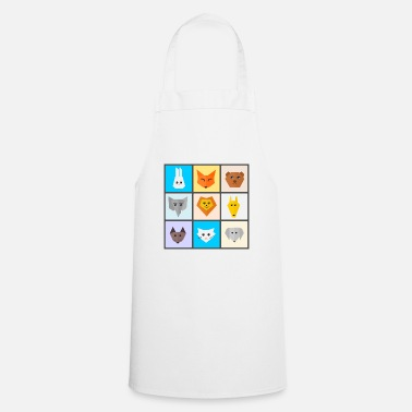 Cute Animals cute animals - Cooking Apron