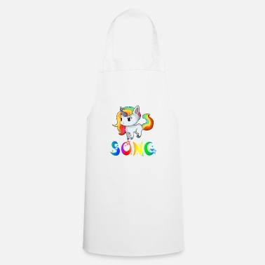 Song Unicorn song - Cooking Apron