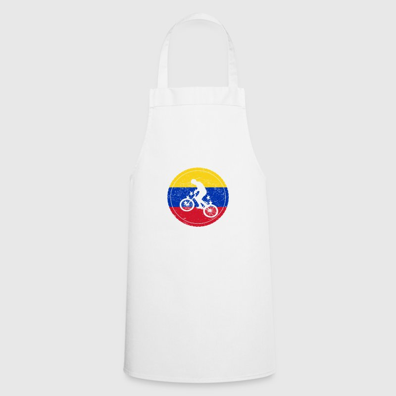 Vistoso Blanca Delante Delantal Fregadero De La Cocina Plato Doble ...