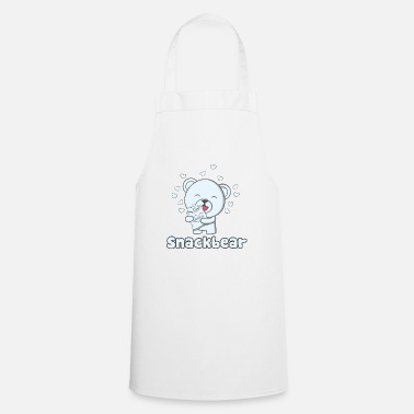 Snack Snack bear / snack bear with heart - Cooking Apron