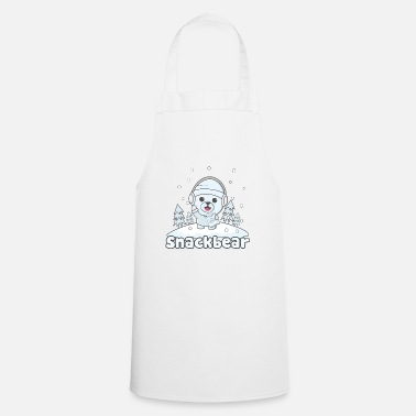 Snack Snack bear / snack bear in the snow - Cooking Apron
