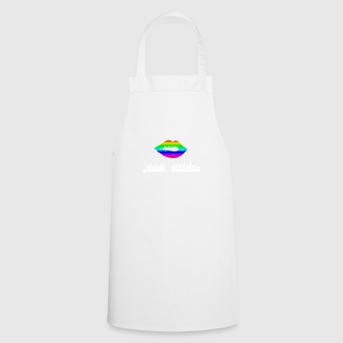 Gay Pride Gay pride gay love pride - Cooking Apron
