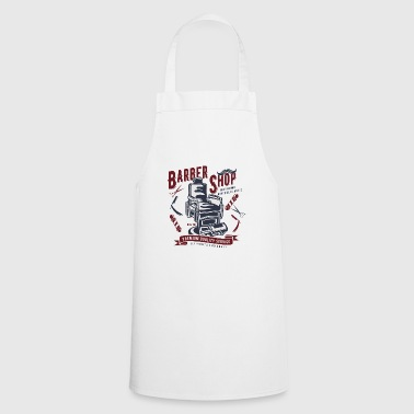 Vintage Barber Retro Beauty Beard Man Gift - Cooking Apron