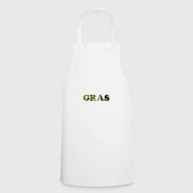 Grass as a word - Cooking Apron