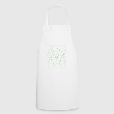 Hanging asterisks with squiggles and arrows - Cooking Apron