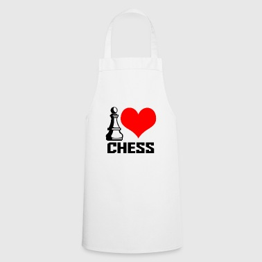 I Heart i heart chess - Tablier de cuisine