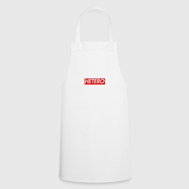 Idea de regalo Hetero Box Logo - Delantal de cocina