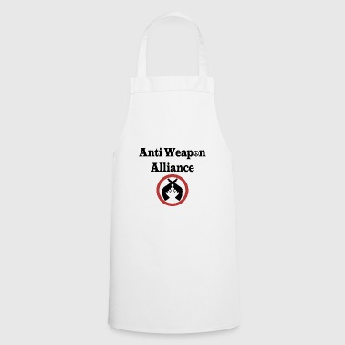 Anti Weapon Alliance - Alianza contra las armas - Delantal de cocina