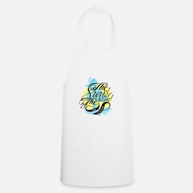 Sand The sun and the sand - Cooking Apron